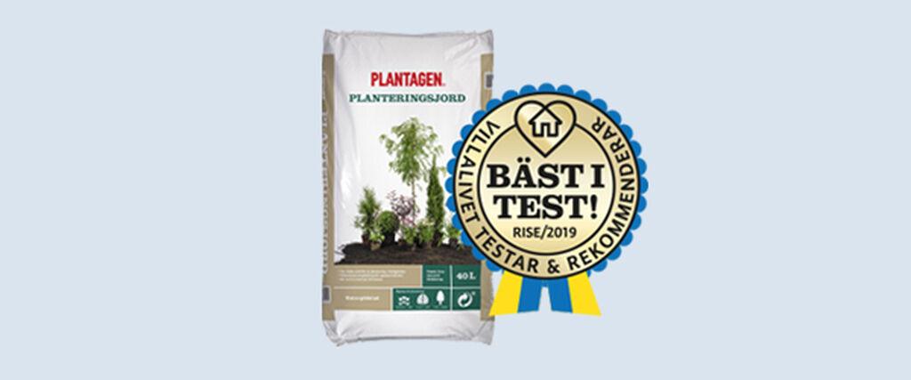 Vår planteringsjord är bäst i test enligt Villalivet