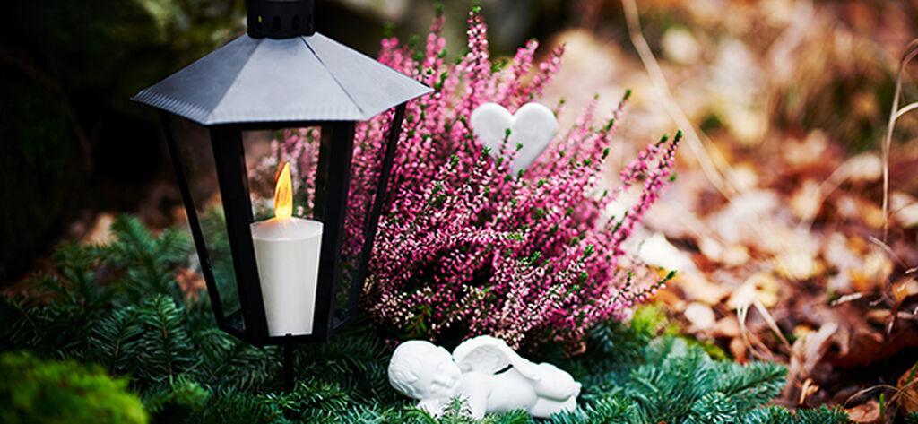 Tänd ett ljus för nära och kära på alla helgons dag