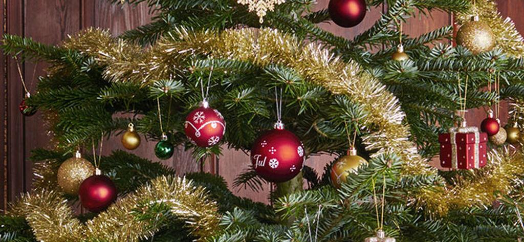Julpynt för den traditionella