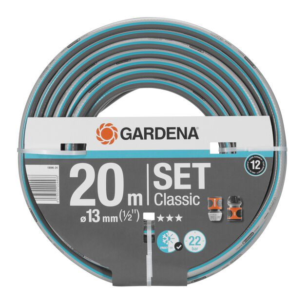 "Classic 20m 1/2"" Set med 1x18215-20 & 1x18213-20 Gardena, 20 ml"