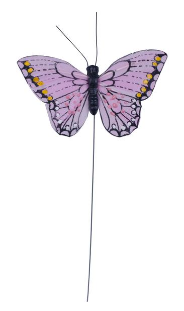Dekorationspinne fjäril 24 cm