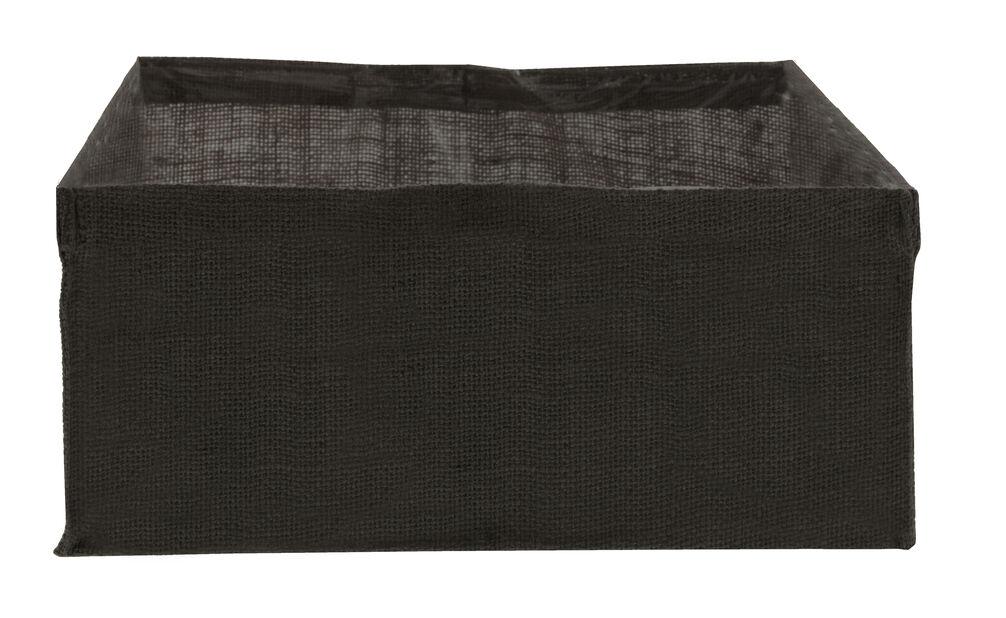 Fiberduk till planteringslåda Cultura, Längd 78 cm, Svart