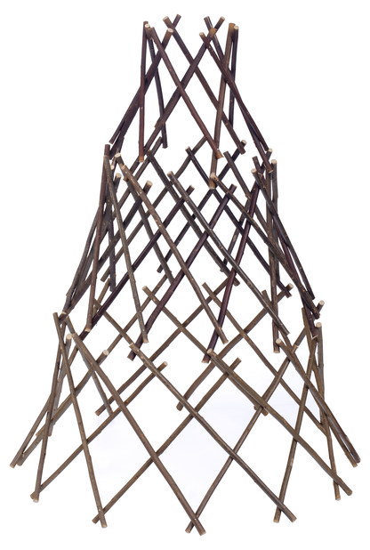 Växtstöd konform, Höjd 90 cm, Brun
