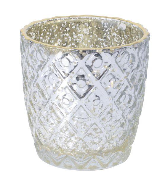 Värmeljushållare Tuva, Ø7 cm, Silver