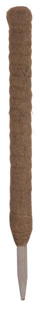 Växtstöd kokosfiber, Höjd 60 cm, Brun
