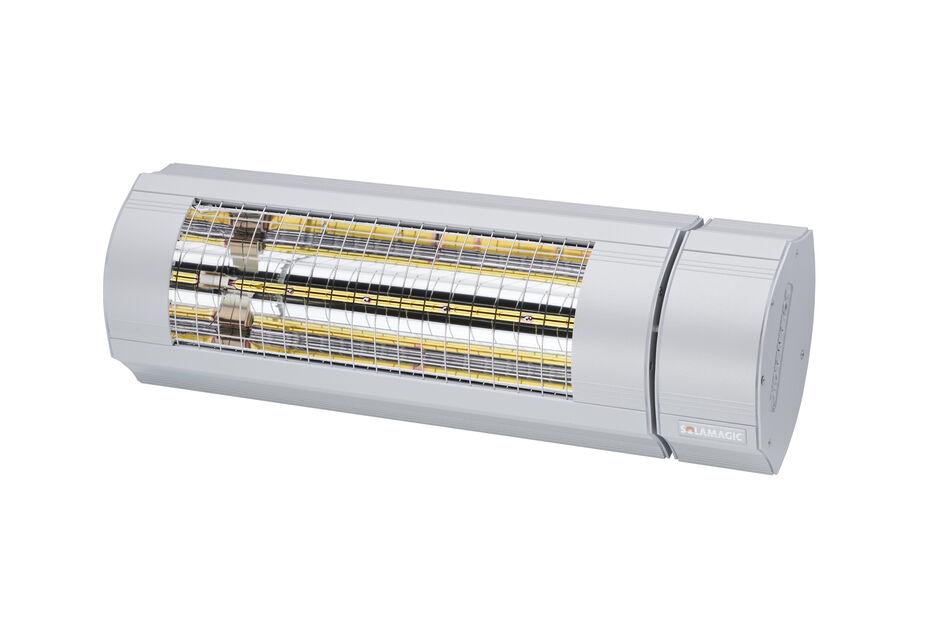 Värmelampa ECO+ PRO BTC 2000 Solamagic, Längd 52 cm, Grå