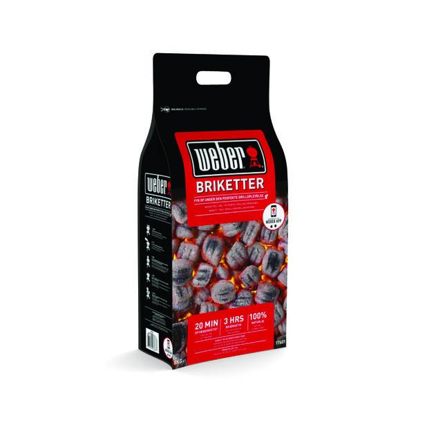 Weber Briquettes 8Kg