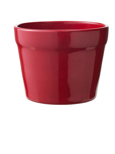 Kruka Lena, Ø13 cm, Röd