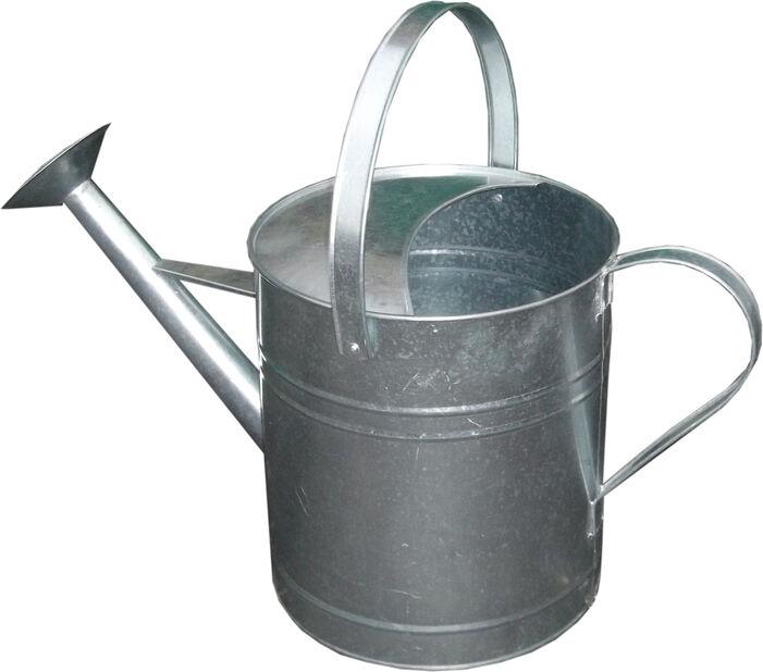 Vattenkanna 9 l galvaniserad grå