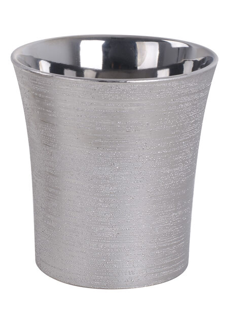 Kruka Agda 13,5 cm silver