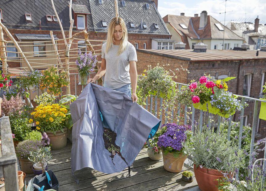 Stor planteringsmatta Gardena