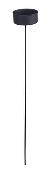 Marschallhållare, Höjd 86 cm, Svart