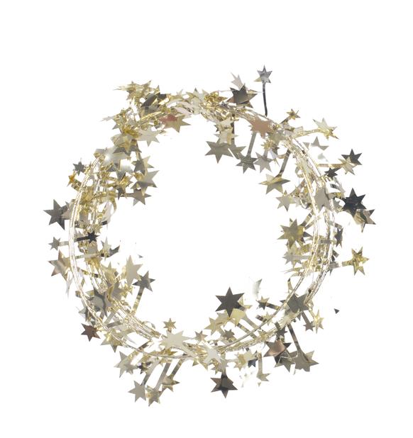 Stjärnglitter, Längd 2.7 m, Guld