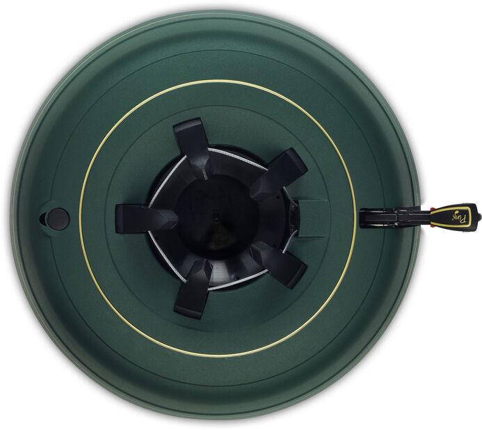 Julgransfot Krinner Premium XXL, 11 L, Grön
