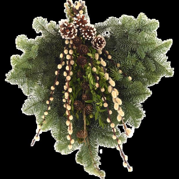 Gravbukett lyx, Höjd 25 cm, Flera färger