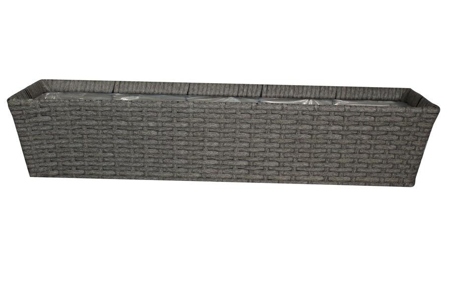 Balkonglåda Frankfurt 72 cm grå