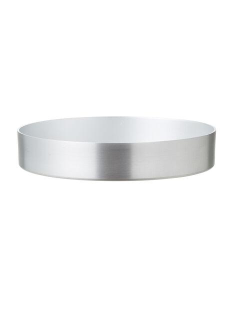 Fat Colin, Ø13 cm, Silver
