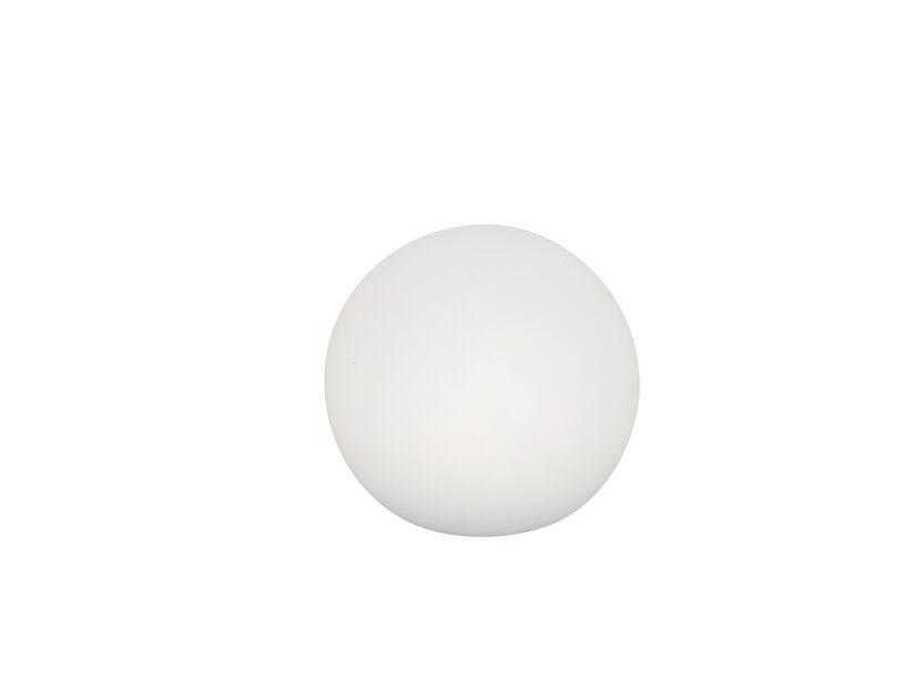 Klotformad lampa Pyxis, Ø20 cm, Vit