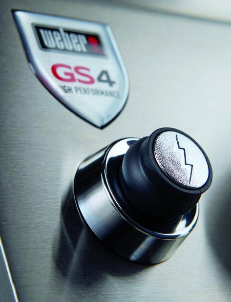 Gasolgrill Weber Genesis II E-310 GBS, Svart