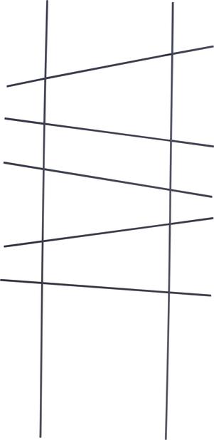 Spaljé Ortus 58x25,5 cm