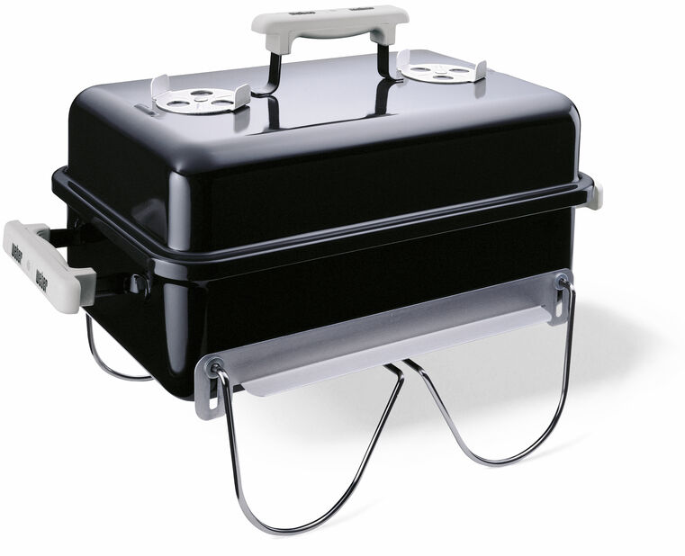 Brikettgrill Go-Anywhere Charcoal, Svart