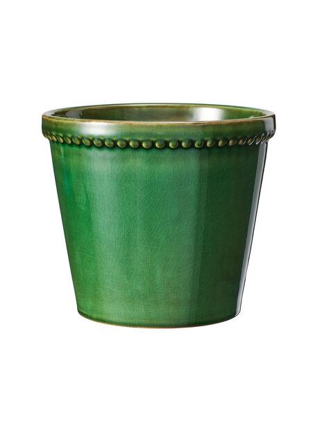 Kruka Elliot, Ø17 cm, Grön