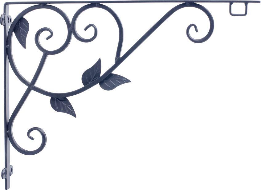 Väggfäste Arden 40 cm, svart