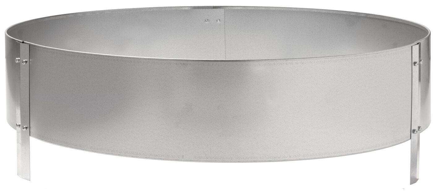 Odlingskragei zink, Ø90 cm, Silver