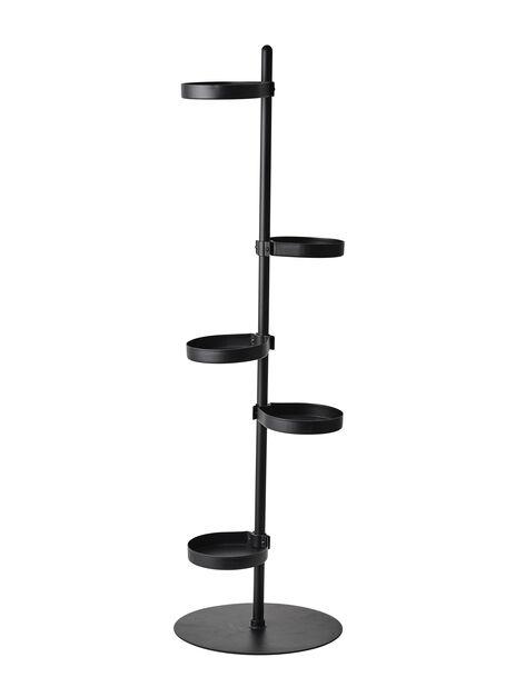 Piedestal Tilia, Höjd 103 cm, Svart