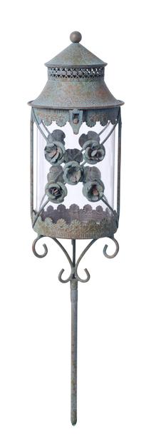Gravlykta Fiore, Höjd 52 cm, Grön