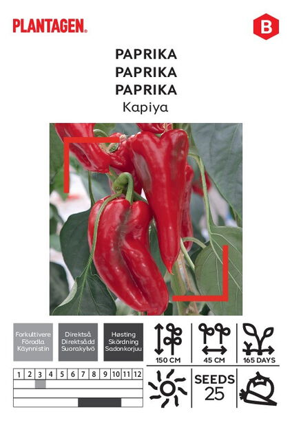 Paprika 'Kapiya'