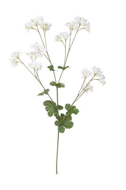Daggkåpa H62 cm, vit, konstgjord
