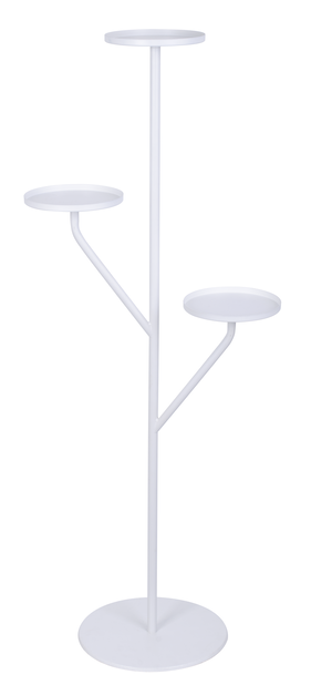 Piedestal Situne, Höjd 121 cm, Vit