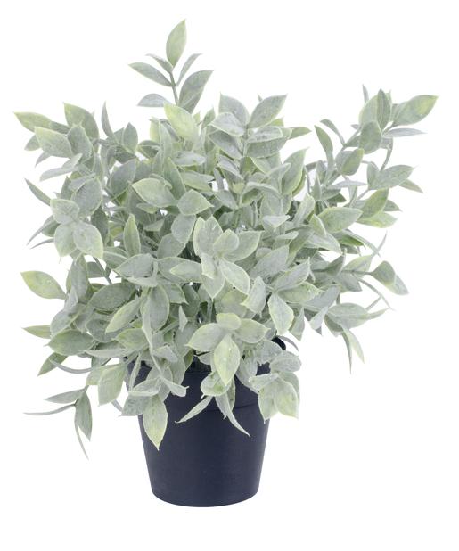 Grönväxt konstgjord, Höjd 25 cm, Grön