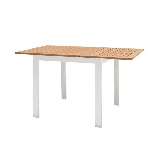 Klaffbord Halmstad, Längd 75 cm, Vit