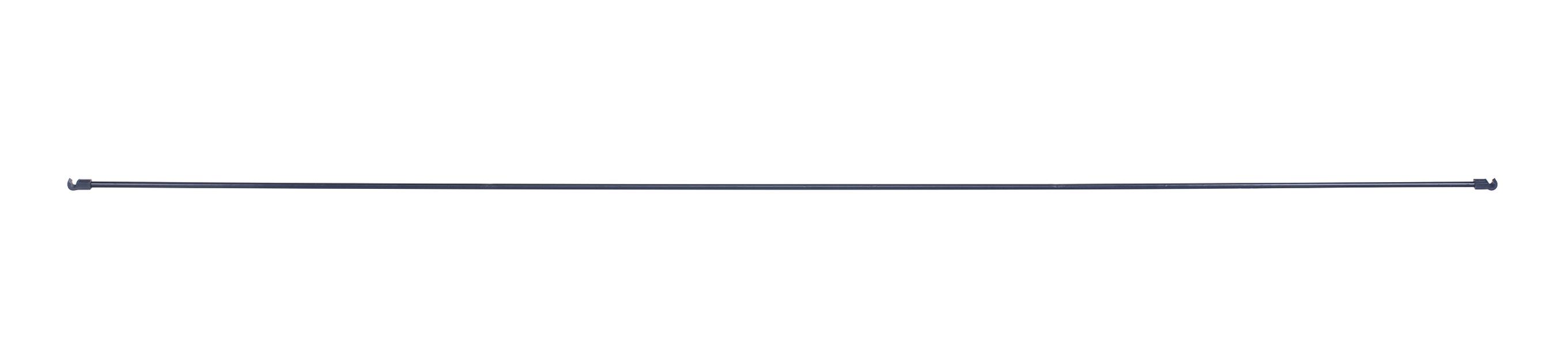 Metallstag till båge, Längd 117 cm, Svart