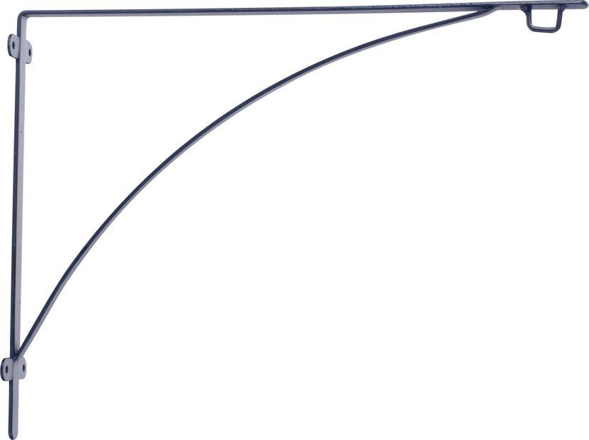 Väggfäste Aldora 40 cm svart