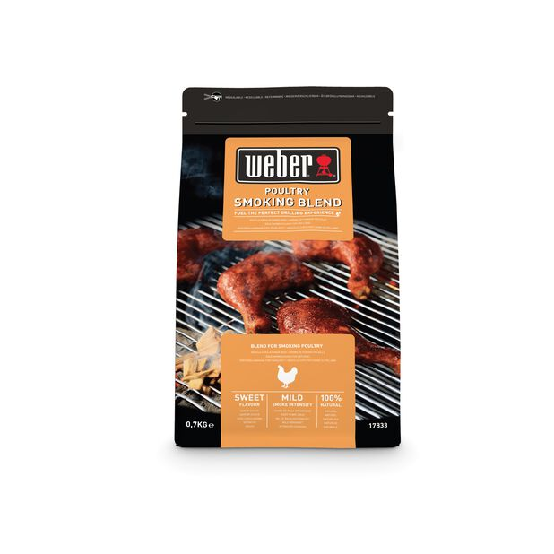 Weber Smoking wood chips Blend Fågel, 700 g, Flerfärgad