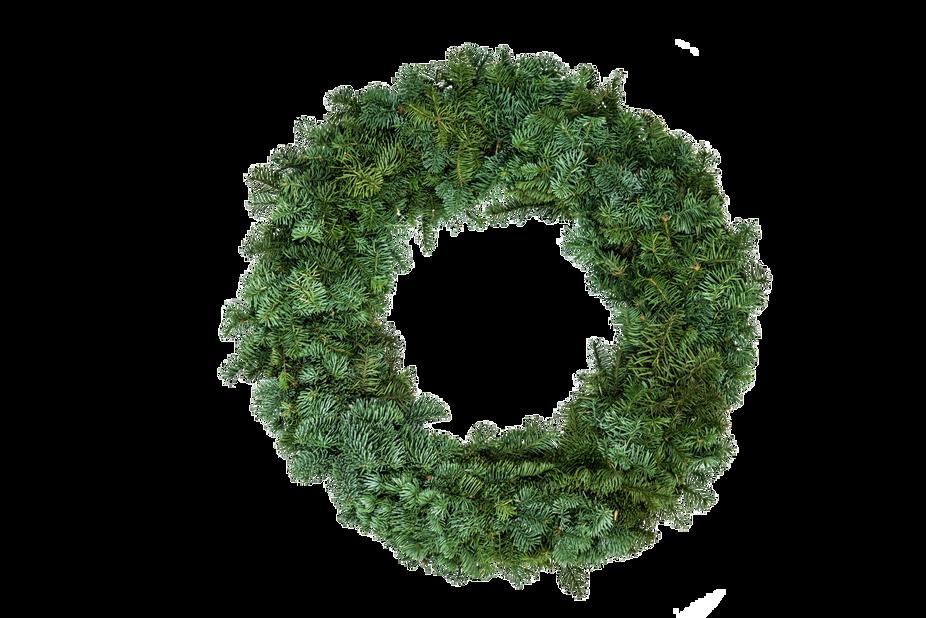 Krans ädelgran, Ø55 cm, Grön