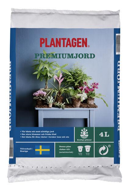 Premiumjord, 4 L, Brun