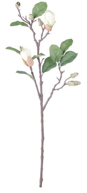 Magnoliakvist H71 cm, vit, konstgjord