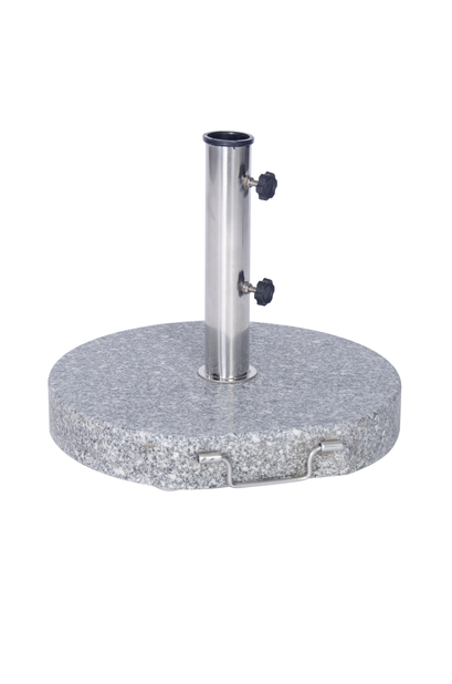 Parasollfot Stone, 30 kg, Grå
