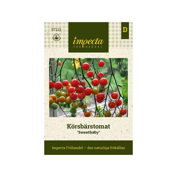 Körsbärstomat 'Sweetbaby', Röd