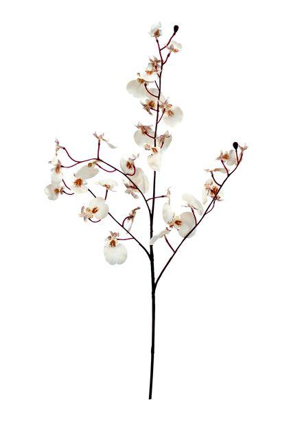 Orkidékvist konstgjord, Längd 81 cm, Rosa