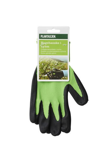 Trädgårdshandske nitril medium