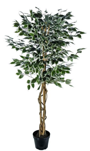 Fikusträd H140 cm, grön, konstgjord