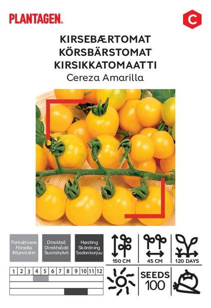 Körsbärstomat 'Cereza Amarilla'