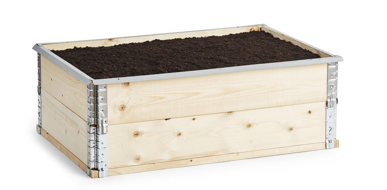 Snigelkant till pallkrage 120x80 cm