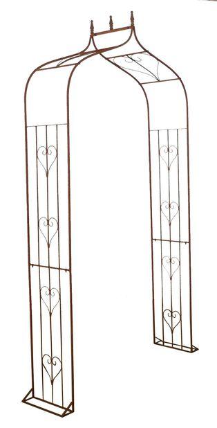 Rosportal rost, Höjd 240 cm, Rost