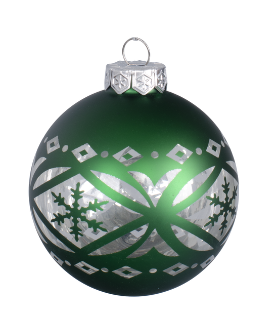 Julgranspynt Folklore, Ø8 cm, Grön